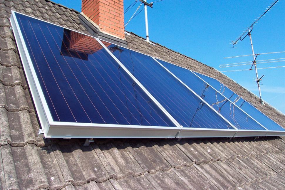 un chauffage solaire