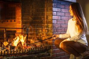 Frotter la cheminée