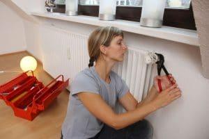 Prenez le contrôle de votre radiateur chaud de tuyauterie