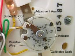 Réglage d'un thermostat Anticipateur de chaleur