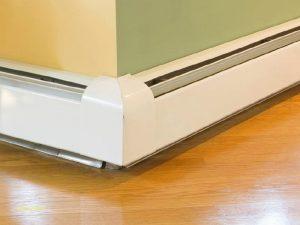 Radiateur à eau chaude pour plinthes chauffantes