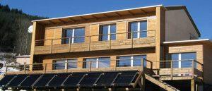 Chauffage solaire combiné